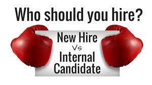 internal candidate
