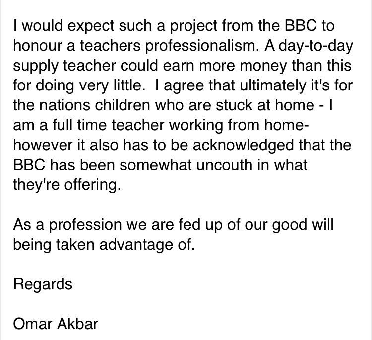 BBC email 3
